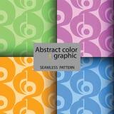 Abstracte grafische kleur Stock Afbeeldingen