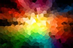 Abstracte grafische kleurrijke achtergrond Royalty-vrije Stock Afbeelding