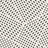 Abstracte grafische naadloze achtergrond met kleine vormen, vierkanten, ruiten Royalty-vrije Stock Afbeelding