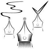 Abstracte grafische pen Royalty-vrije Stock Fotografie