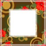 Abstracte grens Royalty-vrije Stock Afbeelding