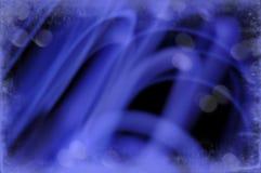 Abstracte Grens van Blauwe Wervelingen Royalty-vrije Stock Fotografie