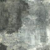 Abstracte Grijs en Wit Stock Foto