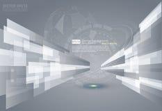 Abstracte grijze achtergrond Royalty-vrije Stock Foto