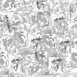 Abstracte grijze achtergrond lichte textuur Eindeloos ornament voor stof, tegel en document en behang op de muur vector illustratie