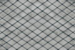 Abstracte grijze achtergrond van de houten planken De Achtergrond van de plaid Abstract minimalistic patroon van ruiten Stock Afbeeldingen