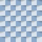 Abstracte grijze achtergrond Vierkante ontwerp en stijl Vector illustratie Stock Fotografie