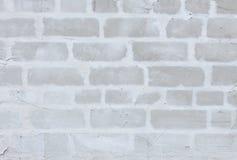 Abstracte grijze baksteenachtergrond Royalty-vrije Stock Afbeeldingen