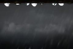 Abstracte grijze de herfstachtergrond Stock Foto