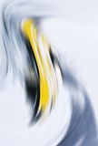 Abstracte grijze en gele achtergrond Royalty-vrije Stock Fotografie
