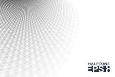 Abstracte grijze glanzende vierkanten, vectorachtergrond stock illustratie