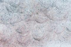 Abstracte grijze steenachtergrond met cirkelpatronen Royalty-vrije Stock Afbeeldingen