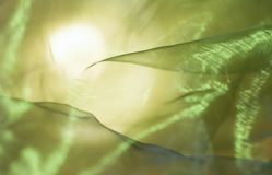 Abstracte groen-gele achtergrond Stock Foto's