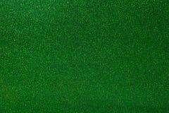 Abstracte groen schittert textuurachtergrond Gloeiend glanzend document voor afwijking uw van de giftvakje of partij decoratie stock foto