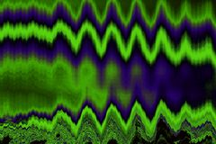 Abstracte groen-violette tintenachtergrond met grungetextuur Royalty-vrije Stock Afbeelding