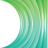 Abstracte groenachtig blauw strpped ontwerp Royalty-vrije Stock Afbeelding