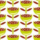 Abstracte groene bloem Royalty-vrije Stock Afbeeldingen