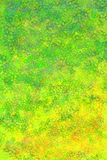 Abstracte groene en gele backgoround Royalty-vrije Stock Afbeelding