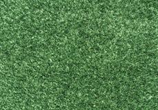 Abstracte groene gevoelde textuur Stock Foto