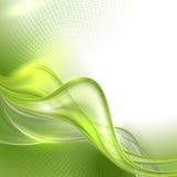 Abstracte groene golvende achtergrond Stock Foto