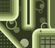Abstracte Groene Gradiënten Stock Afbeelding