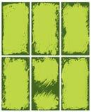 Abstracte groene grenzen Royalty-vrije Stock Afbeeldingen