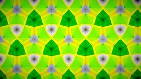 Abstracte Groene het patroonachtergrond van de groenluchtspiegeling bokeh Royalty-vrije Stock Foto's