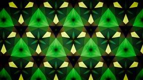 Abstracte Groene het patroonachtergrond van de groenluchtspiegeling bokeh Royalty-vrije Stock Afbeelding
