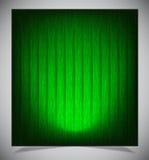 Abstracte groene houten achtergrond vector illustratie