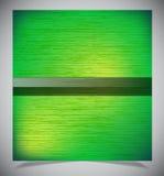 Abstracte groene houten achtergrond royalty-vrije illustratie