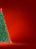 Abstracte groene Kerstmisboom. EPS 8 royalty-vrije illustratie