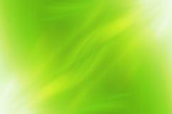 Abstracte groene krommenachtergrond Royalty-vrije Stock Foto