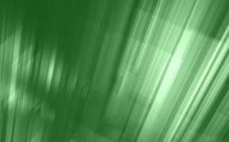 Abstracte groene lichtgevende stedelijke achtergrond stock illustratie