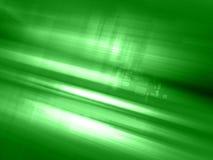 Abstracte groene lichtgevende stedelijke achtergrond vector illustratie