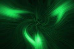 Abstracte groene natuurlijke achtergrond Stock Afbeeldingen