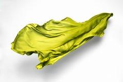 Abstracte groene stof in motie Stock Afbeelding