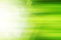 Abstracte groene technologieachtergrond stock illustratie