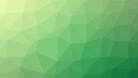 Abstracte groene vectorgradiënt lowploly van vele driehoekenachtergrond voor gebruik in ontwerp Stock Foto