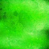 Abstracte groene waterverfachtergrond met scheiding Royalty-vrije Stock Foto