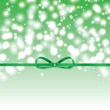 Abstracte groene zonnige achtergrond Royalty-vrije Stock Foto's