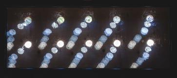 Abstracte groepsachtergrond van ronde gaten Royalty-vrije Stock Afbeeldingen