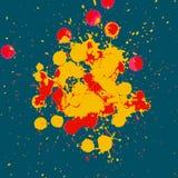 Abstracte grunge artistieke Achtergrond stock illustratie