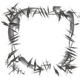 Abstracte Grunge-borstel zwarte textuur magisch Halloween vector illustratie