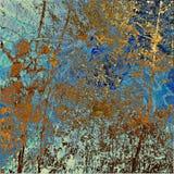Abstracte grunge grafische achtergrond van de kunst royalty-vrije illustratie