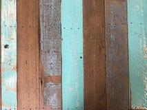Abstracte grunge oude geschilderde houten raad voor achtergrond en tekst Stock Fotografie