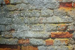 Abstracte grunge rode bakstenen muur stock afbeelding