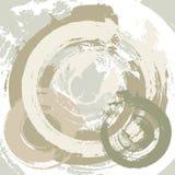 Abstracte grungeachtergrond met radiale slagen Stock Afbeelding