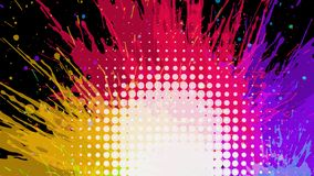 Abstracte grungeachtergrond, vector Stock Foto