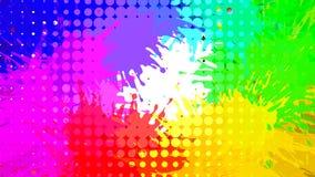Abstracte grungeachtergrond, vector Stock Afbeelding