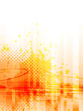 Abstracte grungeachtergrond, vector Stock Afbeeldingen